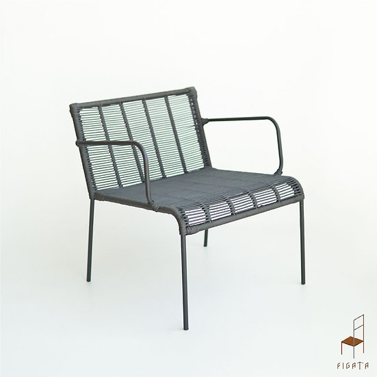 Siro Occasional Armchair - Outdoor metal furniture