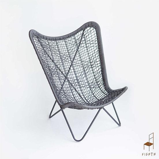 Tanggo Occasional Chair - Outdoor metal furniture
