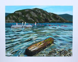 Lily Beach Print