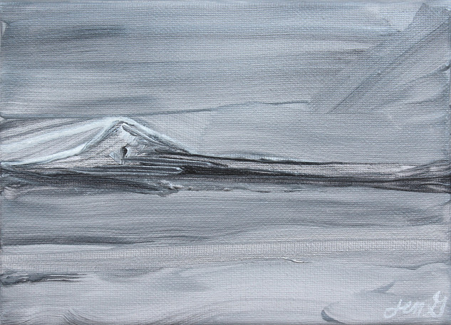 Silver Study I Mount Baker