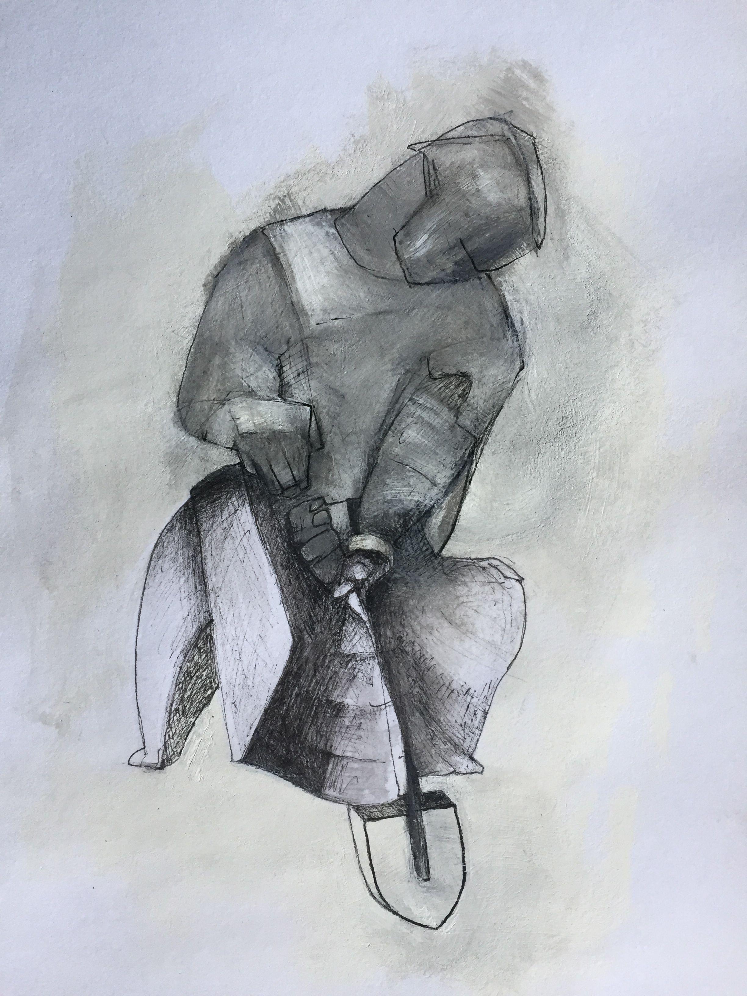Man with Shovel
