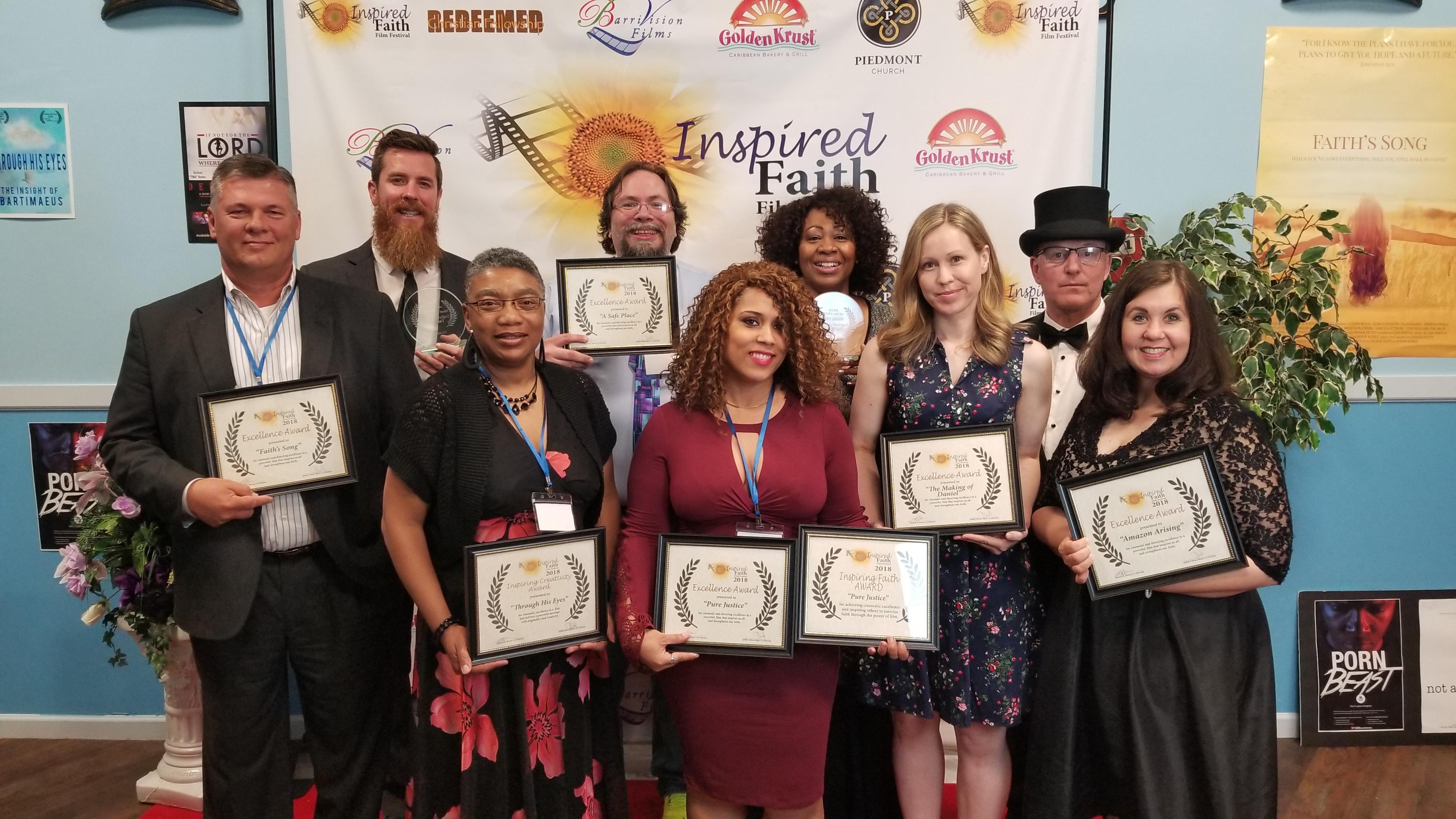 Inspire Faith Honorees