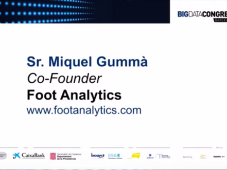 Foot Analytics at Big Data Congress 2017