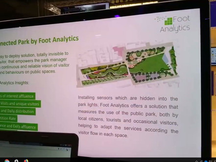 Foot Analytics at Smart City Expo World Congress 2017