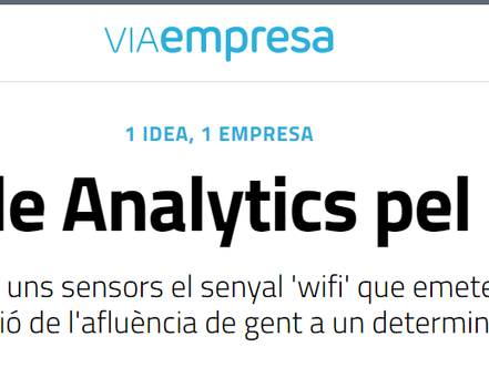 Foot Analytics in Via Empresa