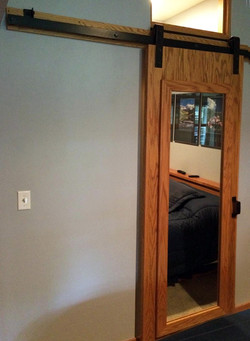 Sliding Door with Flat Track Hardware in Condo1