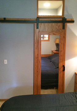 Sliding Door with Flat Track Hardware in Condo 2