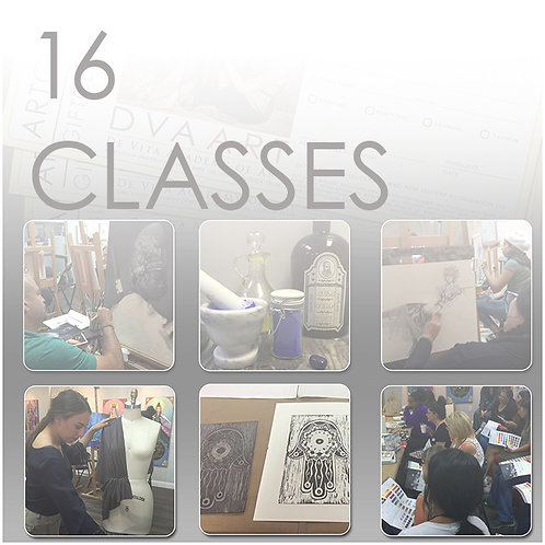 16 Classes, Save $100 / 12.5% Off!