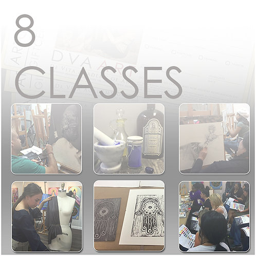 8 Classes, Save $35 / 8.75% Off!