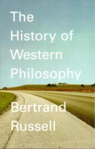 Bertrand Russell The History of Western Philosophy book cover