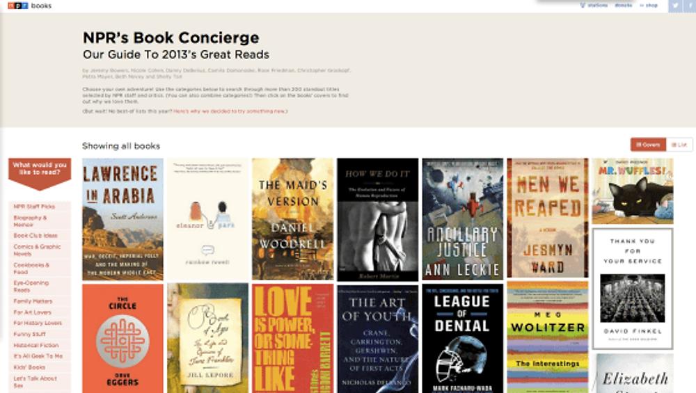 NPR Book Concierge
