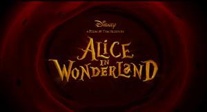 Alice in Wonderland The Movie Trailer