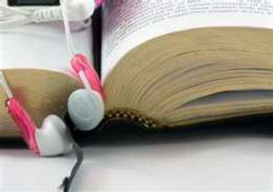 reading and music listening