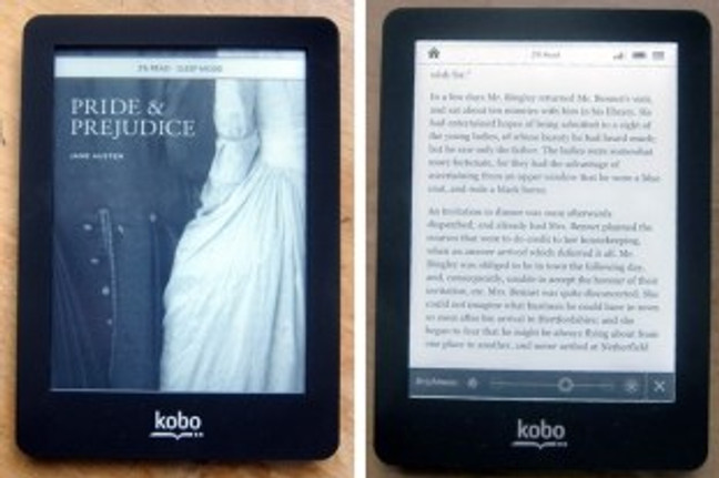 kobo glo pride and prejudice