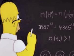 Homer math fermat's theorem