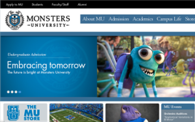 fake university website