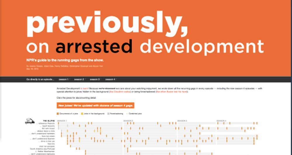 NPR Arrested Development