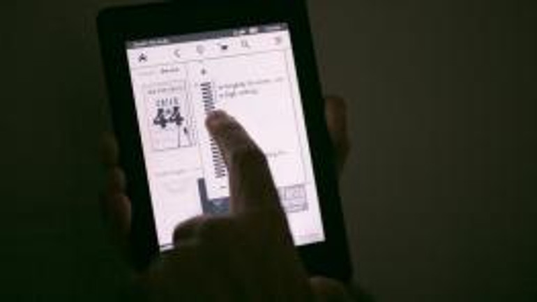 kindle paperwhite reading at night