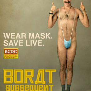 Jason's Review of Borat Subsequent Moviefilm 2020 ★★★½