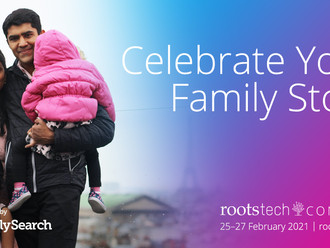 Coming Soon!!     RootsTech!!         Free registration!!!