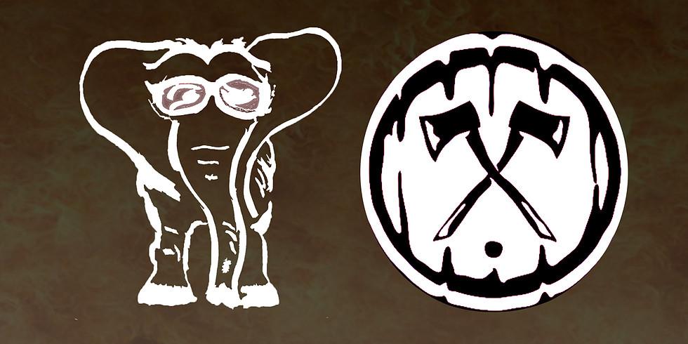 Family Elephant at Axe & the Oak