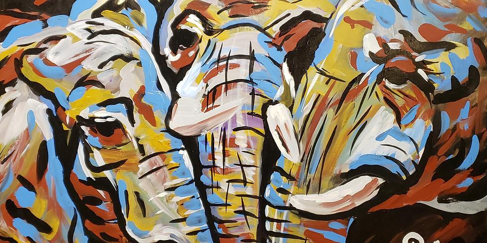 Family Elephant @ Armadillo Ranch