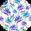 Thumbnail: Crew Neck Dress Bird of Paradise Blue