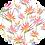 Thumbnail: Crew Neck Dress Birds of Paradise Orange