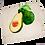 Thumbnail: Tea Towel with Avocado