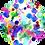 Thumbnail: Crew Neck Dress Toxic Watercolor