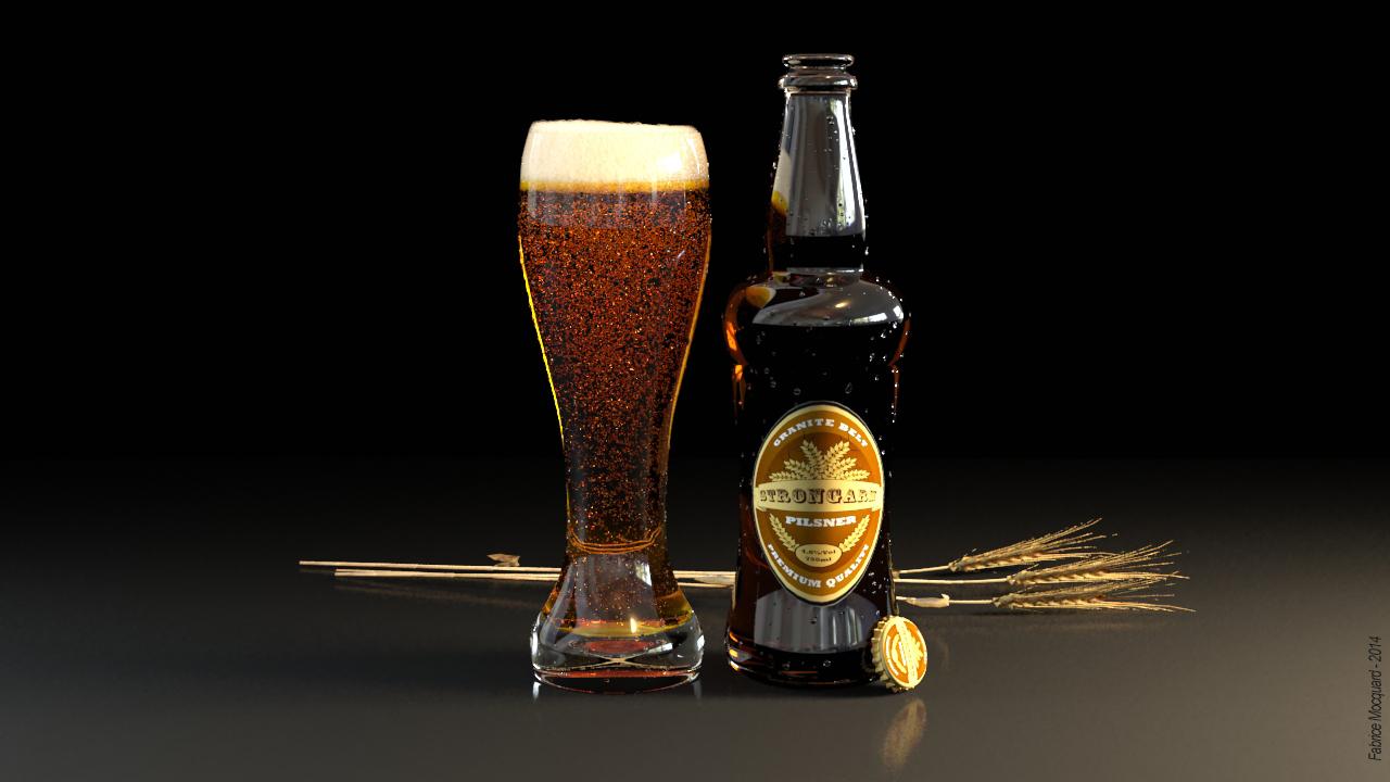 Publicité Bière