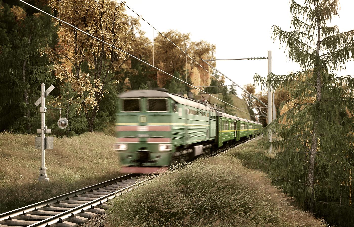 Train Vintage Picture