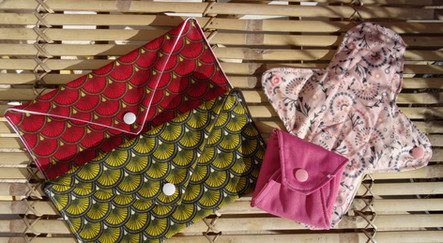 pack 2 pochettes+2  serviettes flux normal