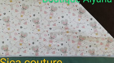 couverture bébé polaire souris