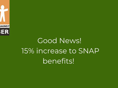SNAP BENEFIT BOOST!
