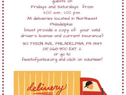 Can you help us to deliver food to those in need?