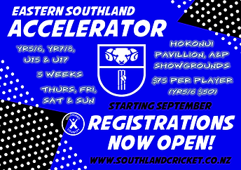 Southland Cricket Eastern Southland Acce