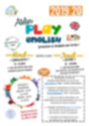 1- Affiche lancement PLAYENGLISH 19-20.p