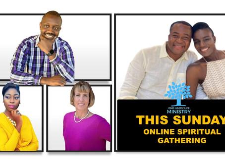 This Sunday's Speakers