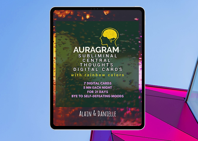 Auragram Subliminal Cards - Studio Displ