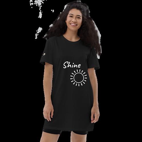 Shine - Organic cotton t-shirt dress