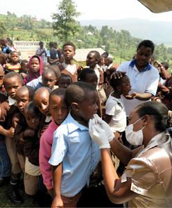 8 Days – 8 Communities – 8 Clinics – 4,500 Patients, A typical Bridge To Health Brigade