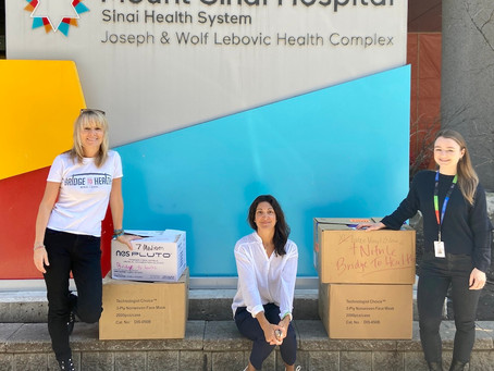 PPE Donations - Featured on CTV Toronto