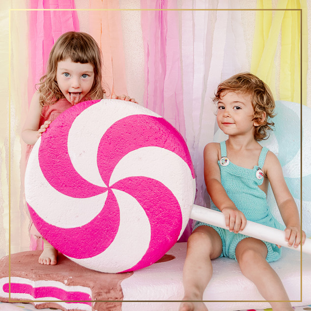 Dex + Sofi in Candyland