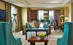 Fairmont Battery Wharf_Presidential Suite Living