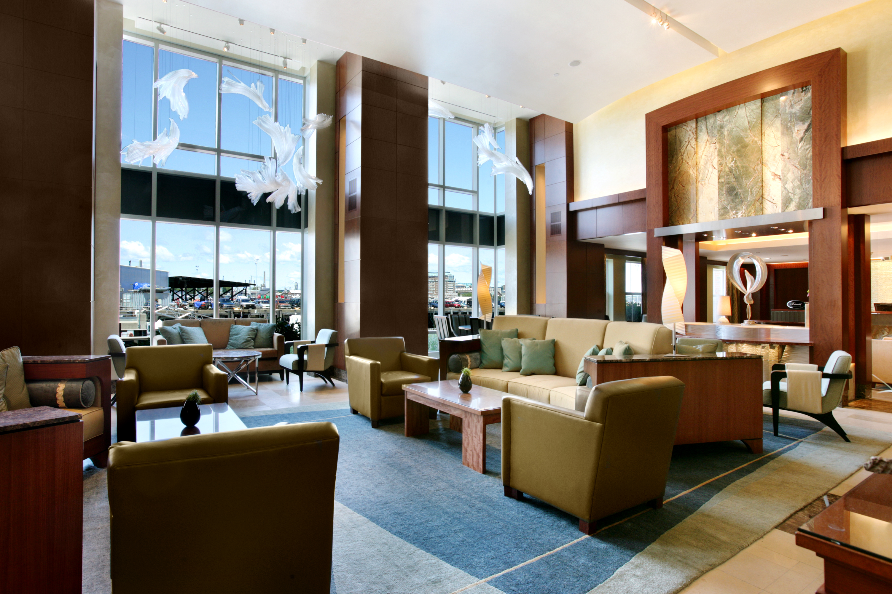 Fairmont Battery Wharf_Lobby_02