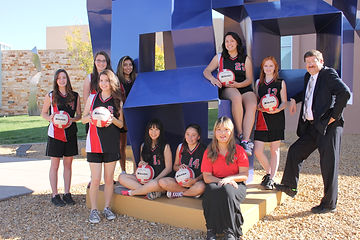 Lady Centurions high school volleyball