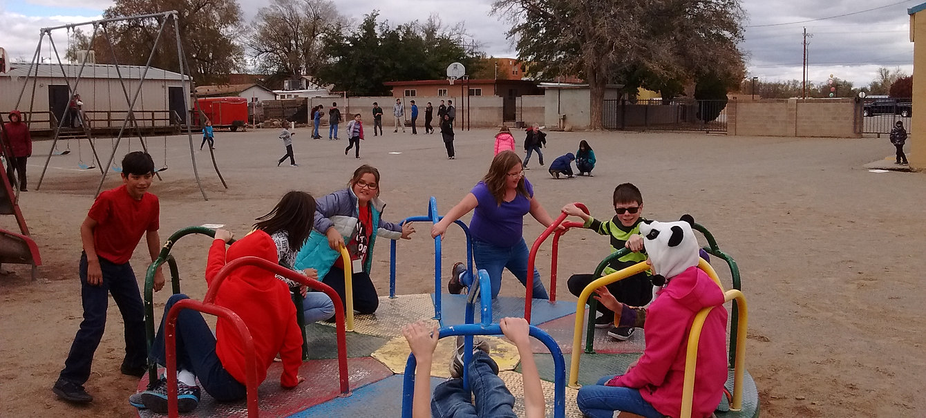 Playground at recess