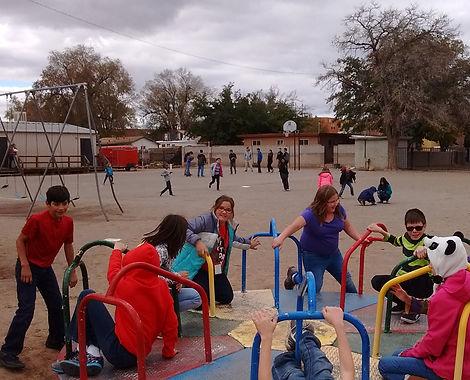 recess on playground