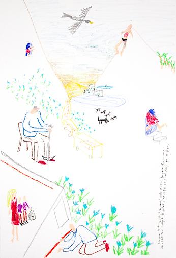 chloe breil dupont pastel illustration illustrator artist